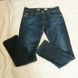 """Adriano Goldschmeid """"Piper"""" Slouchy Slim Fit Jeans"""